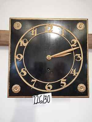 Antique Wooden Wall Clock inactive