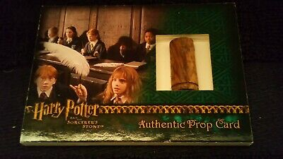 Harry Potter Sorcerers Stone Wand prop Card
