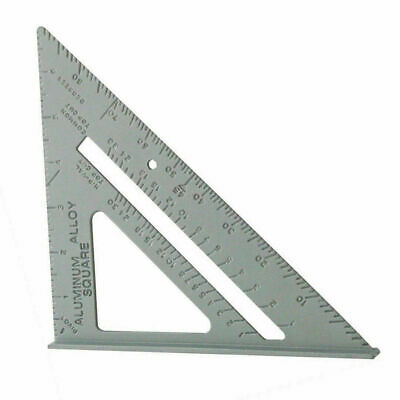 """New 7"""" Steel Roofing Roofer Square Carpenters Wood Working 7 Inch Alloy Tool k11"""