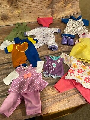 Vintage Doll Clothes Lot 10 to 12 Inch Dolls USED PLAYED WITH CONDITION