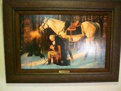 Arnold Friberg PRAYER AT VALLEY FORGE 15x24 Canvas George Washington