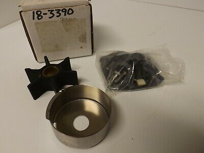 New Johnson//Evinrude Water Pump Impeller Kit For Outboards 395060 18-3390
