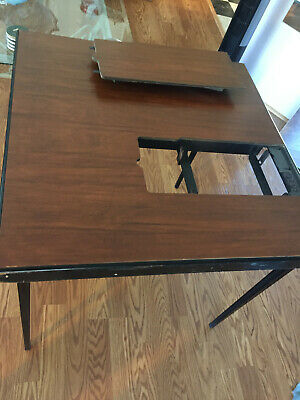 RARE Vintage Quilting Table for Singer 221 Featherweight Sewing Machine