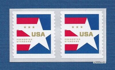 *NEW* Presorted Star Standard (Coil Pair) 2020 Mint NH - *In Stock*