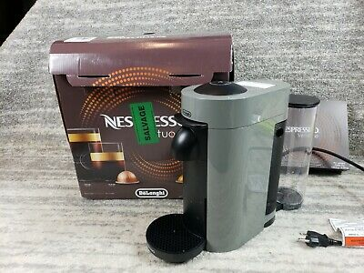 Nespresso Vertuo Plus By Delonghi. Coffee And Espresso Machine.