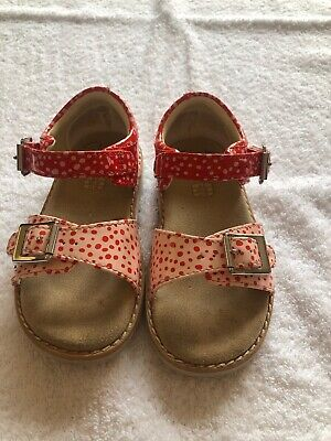 Clarks Girls Sandals Size 6F