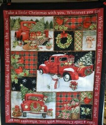 Brownlow Red Truck  3D Ornament ~~Artwork by Susan Winget~~  NEW