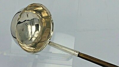 George III silver Scottish ladle by John Macdonald of Edinburgh circa 1800