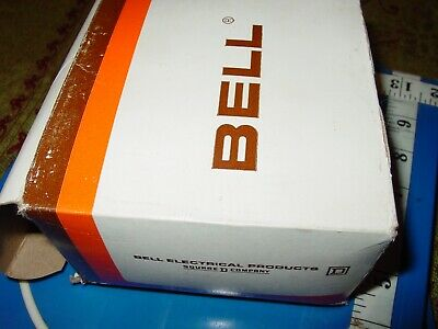 Vintage Bell Single Gang Beige Crackle Finish Metal Wall Toggle Switch 4 Plates