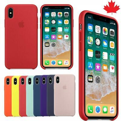 Silicone Case For Apple iPhone 11 11Pro 11ProMax X Xs Xr XSMAX  7 8 7Plus 8Plus