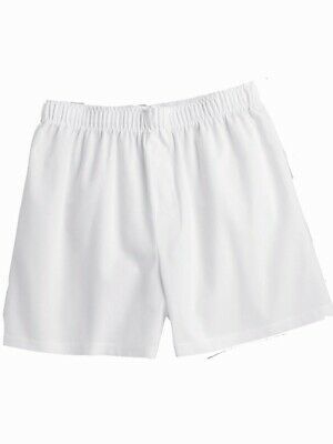 L S C11 Boxercraft 100/% Cotton Mens Boxer Shorts XL or 2XL 5-pair White M