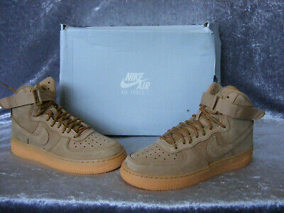 New Womens Junior Ladies Boys Girls Nike Air Force 1 High WB Trainers UK 5 EU 38
