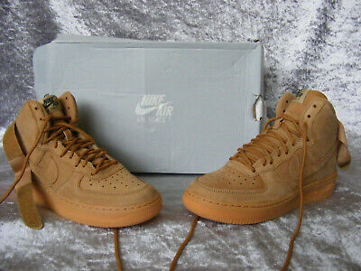 New Women's Junior Boys Girls Nike Air Force 1 High WB Trainers UK 3.5 1/2 EU 36