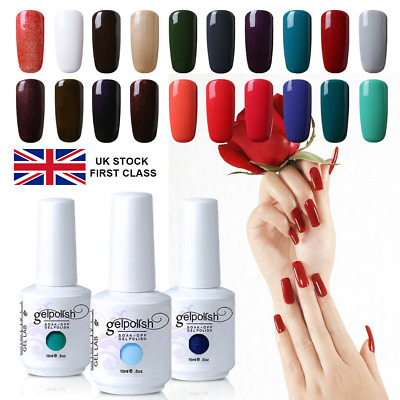 GEL LAB 15ML Soak Off Gel Polish Base Top Coat Manicure Varnish Lacquer UK