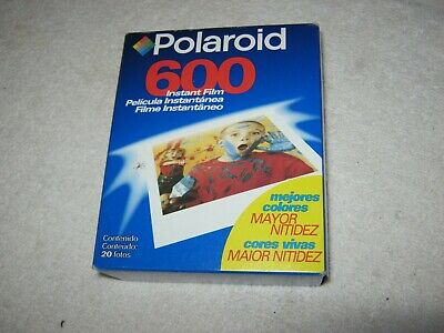 "Polaroid 600 Instant Film 20 Pictures, "" New "" Sealed Box. EXP. 01/00, Must See"