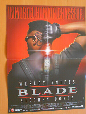 Wesley Snipes Blade 2 Rare German Big Glow Poster Vampire Limited Edition 19 60 Picclick Uk
