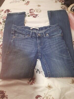 Levis 711 Boys Skinny Jeans With Stretch Age 7 Years Reg Vgc
