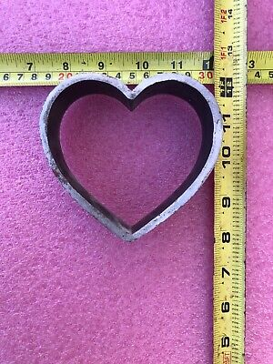 """Clicker Press Die Forged for Paper Leather Foam etc """"Heart 7"""""""