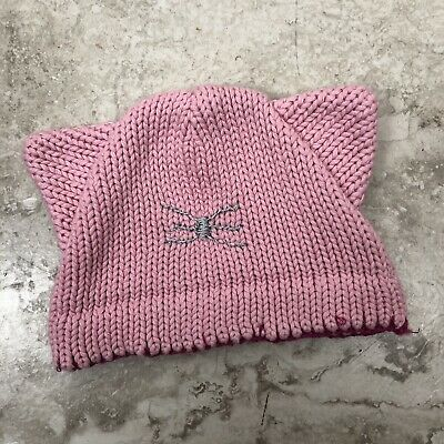 Anthropologie Baby Toddler Girls Hat Cat Winter Knitted