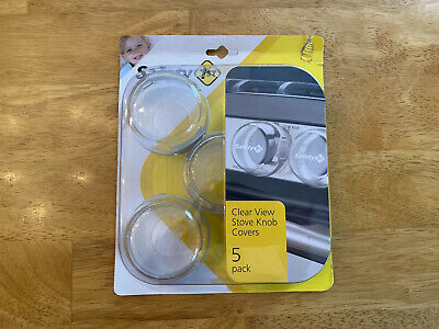 Safety 1st Clear View Stove Knob Covers 5 Pack