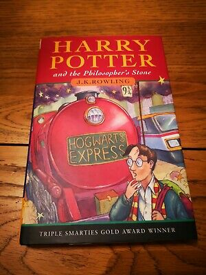 Harry Potter And The Philosopher's Stone J K Rowling 1st Edition Bloomsbury book
