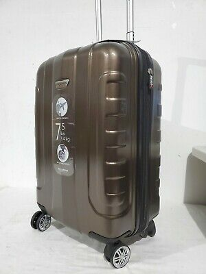 """$320 Ricardo Pacifica 21"""" Hardside Carry-On Spinner Suitcase Luggage Expandable"""