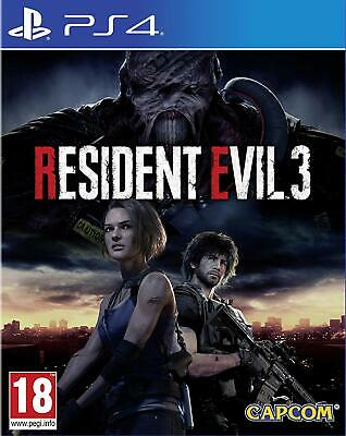 Resident Evil 3 Ps4 Eu Nuovo Sigillato Ita Playstation 4 Re 3 Nemesis Remake