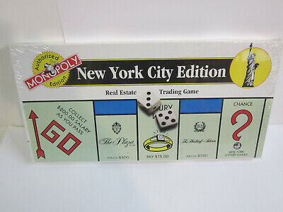 Monopoly New York City Board Game Edition Nyc Wtc World Trade Center