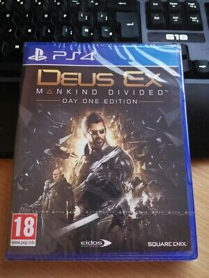 Deus Ex Mankind Divided Day One Edition PS4 new