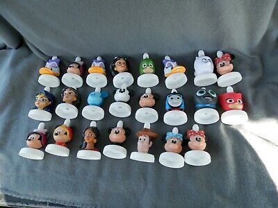 Good To grow Bottle Toppers Disney,Thomas,Woody,Wonder Women Lot Of 23