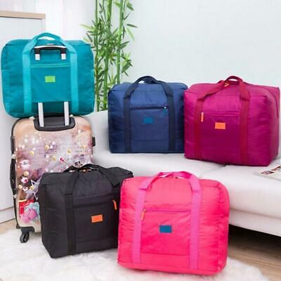 Lightweight Foldable Portable Travel Luggage Baggage Storage Carry-On Duffle Bag