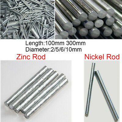 99.9999/% Pure Tungsten Rod Solid Round Rod Bar Diameter 4mm Length 150mm