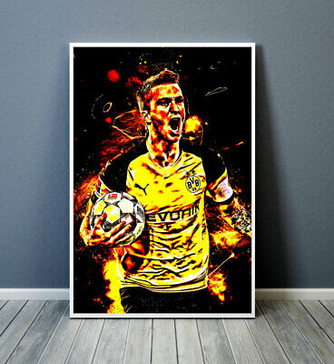 "014 Marco Reus Germany Borussia Dortmund Football Player 24/""x42/"" Poster"