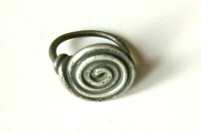 Celtic Silver Spectacle Spiral Ring