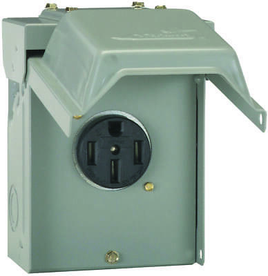 GE Industrial Solutions U054P RV Power Outlet, 50 A, 3R