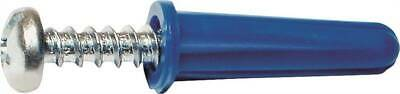 MIDWEST FASTENER 10413 Conical Anchor with Screw, Plastic