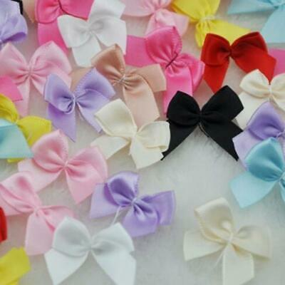 New Ribbon Flowers Bows Gift DIY Craft Wedding Decoration Supplies JJ