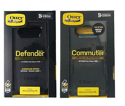 Otterbox Defender Commuter Samsung Galaxy S10 S9 S8 S7 Note 5 8 9 10 + Plus Edge