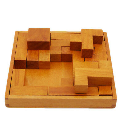Child Wooden Puzzle Games Pentominoe Kids Adult Intellectual Puzzle Toys Novelty