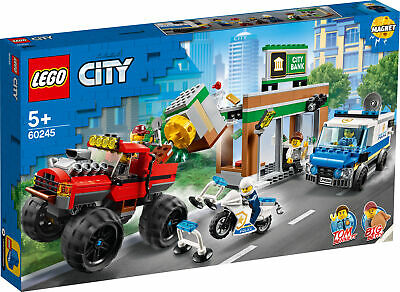 60245 LEGO City Police Police Monster Truck Heist 362 Pieces Age 5 Years+
