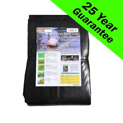 PondKraft Pond liner - 25 Year Guarantee 3.0m x 3.0m