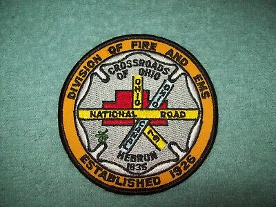 VERY old vintage RICHMOND OHIO OH FIRE PATCH