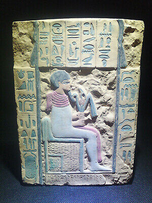 EGYPTIAN ANTIQUES ANTIQUITIES Limestone Stela Stele Stelae 1549-1361 BC