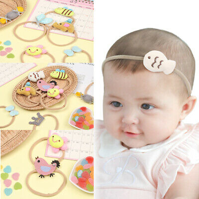 Girl Bow-knot Flower Love Heart Animals Hair Band Headdress Headwear Headbands