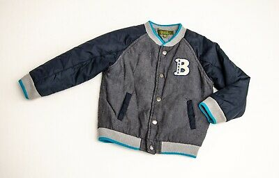 IMMACULATE boys DESIGNER 'TED BAKER' BOMBER JACKET Age 3-4 YEARS