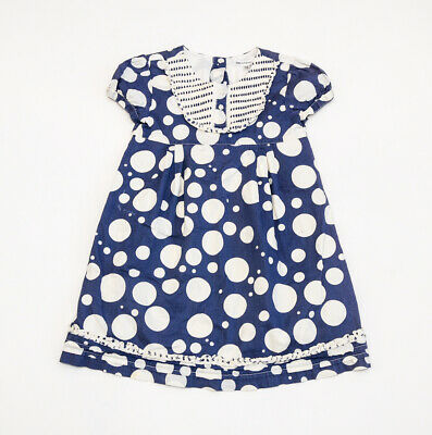 FAB girls 'MARKS AND SPENCER' SPOTTED DRESS age 4-5