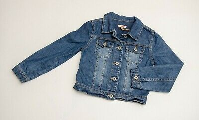 IMMACULATE girls 'BLUEZOO' DENIM JACKET Age 9 YEARS