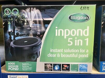 Blagdon In Pond 5 In 1 6000 Pump Filter Uvc