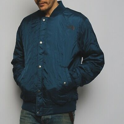 NEW MEN/'S The North Face Ampere Performance Jacket Bomber Blue L $99 #76-85048