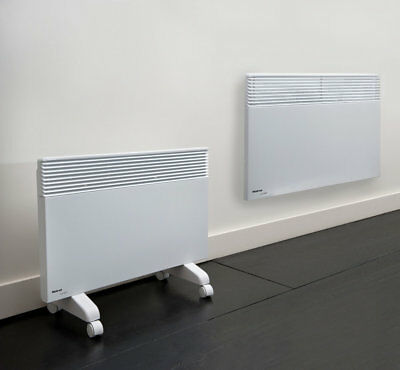 2.4kw oslo electric panel heater with timer